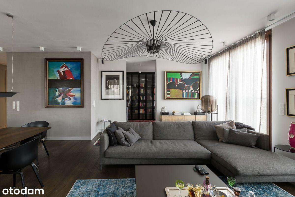Czteropokojowe mieszkanie z dużym tarasem