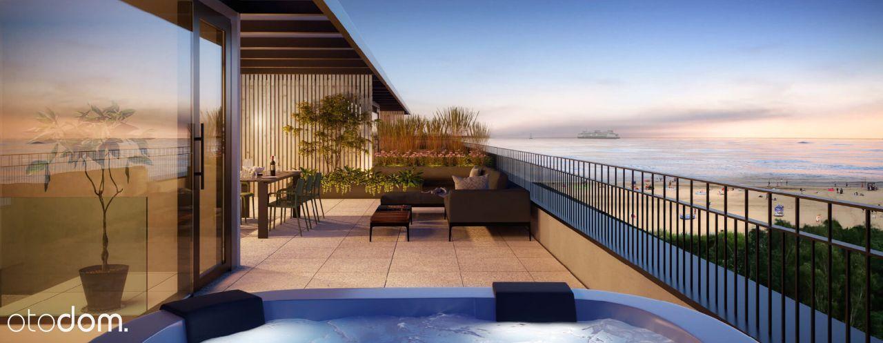 3-pokojowy apartament z tarasem i jacuzzi na dachu