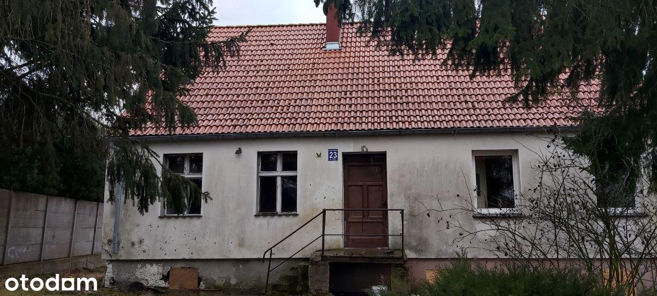 dom z działką ul. Graniczna 23