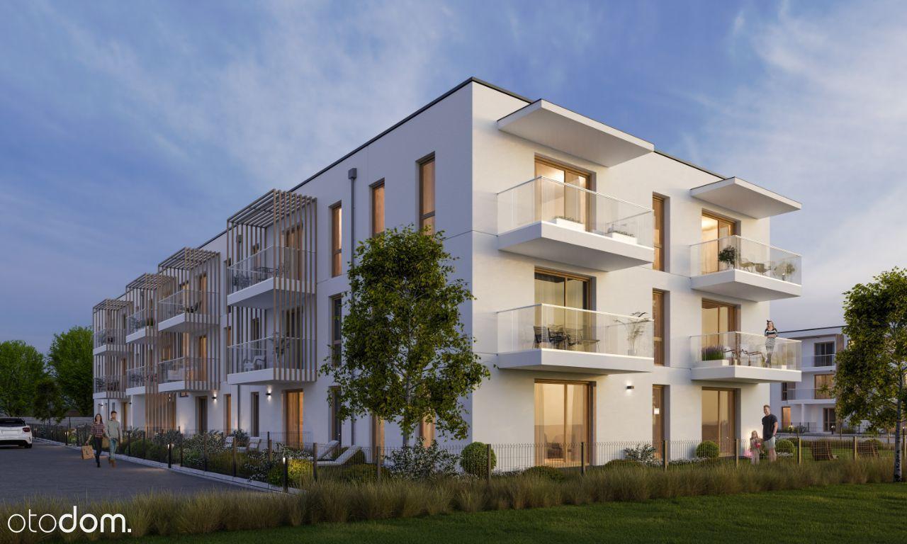 Nowoczesne mieszkanie 2 pokojowe z balkonem 38m2