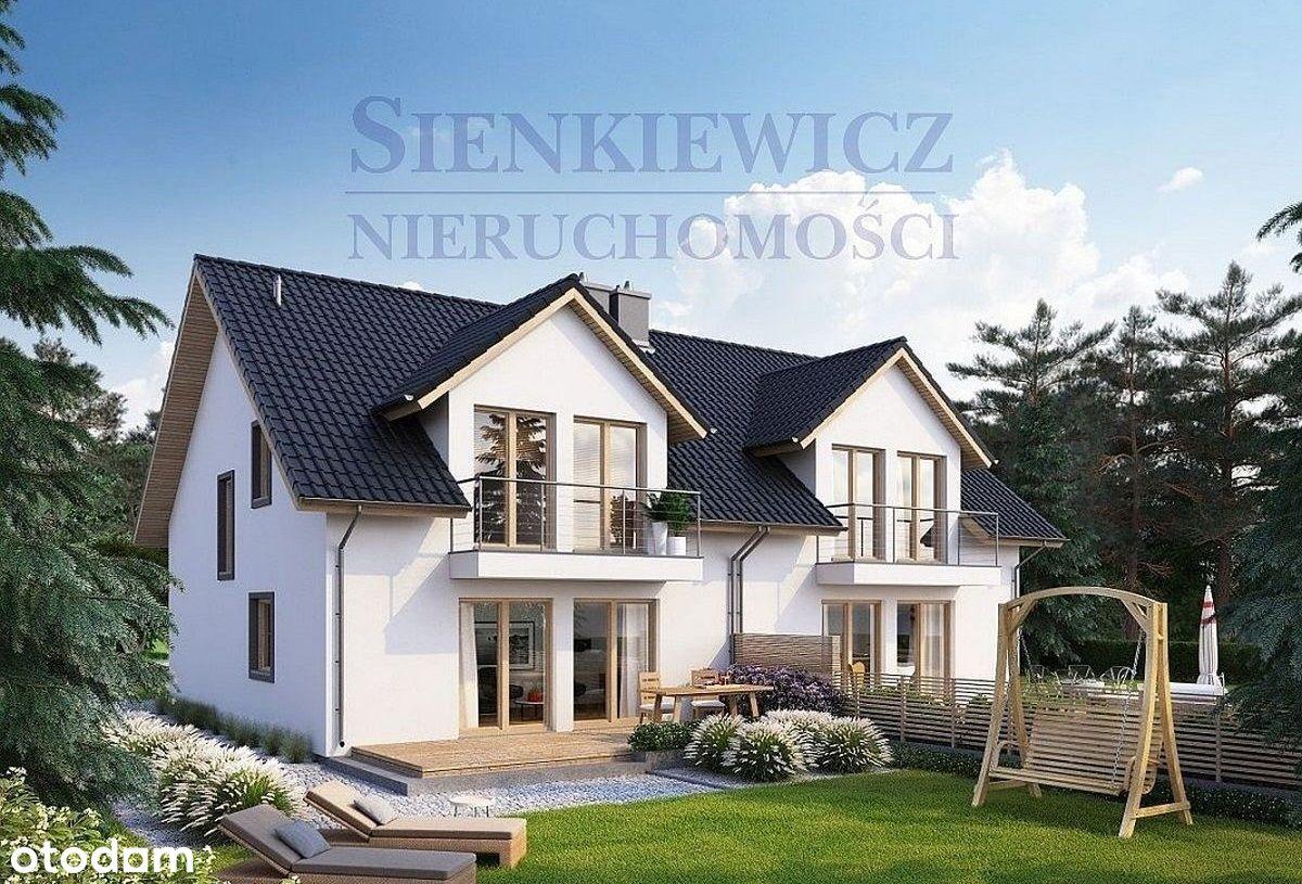 Nowe domy w zabudowie bliźniaczej w Janczewie