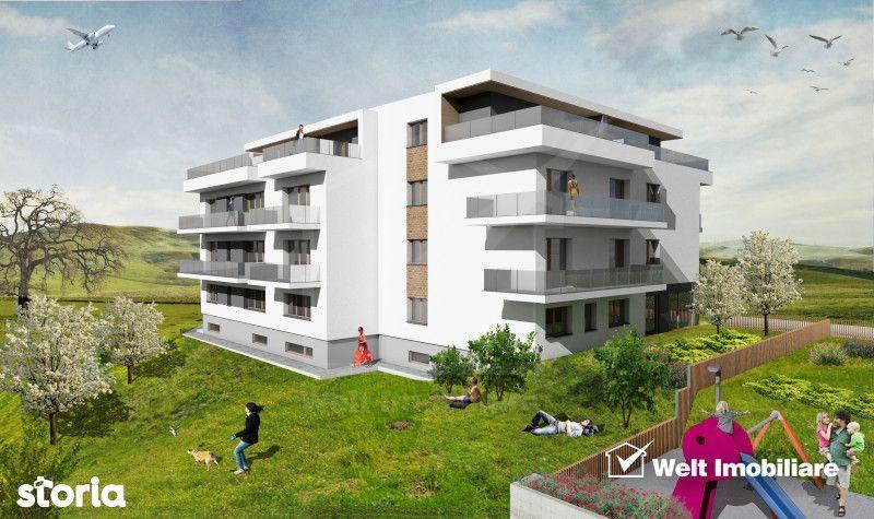 Apartament 3 camere, Borhanci, terase 53 mp, acces facil spre Gheorghe