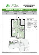 63m2, 3 pokoje, duży ogród kameralne osiedle