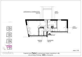 Mieszkanie 187c/4 pow. 59,13 m2