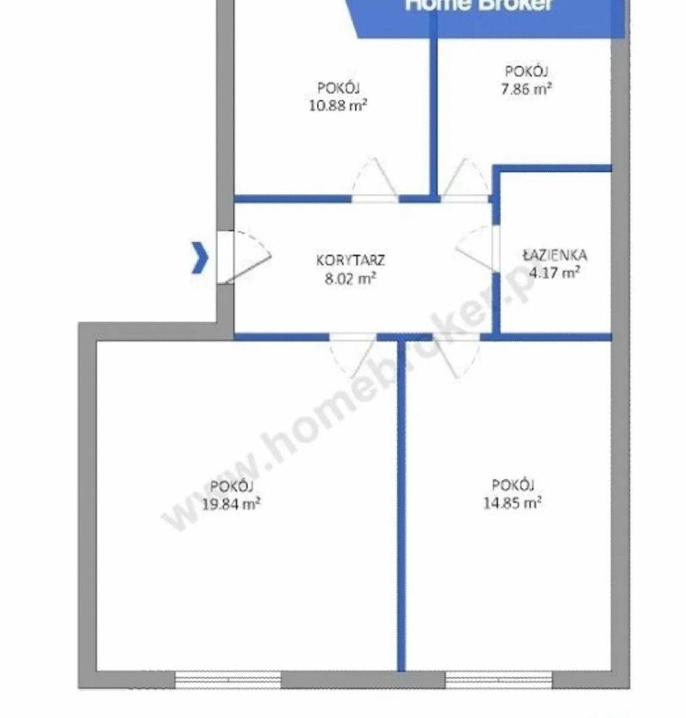 Mieszkanie 3- pokojowe