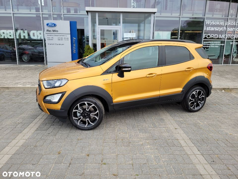 Ford EcoSport Active, 1.0 EcoBoost mHEV 125 KM M6 ( z ASS ) FWD - 16