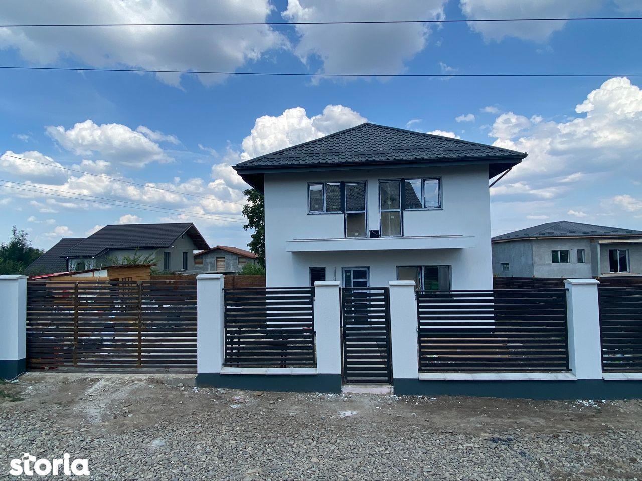 BECI!Vila 4 camere,110 mp utili,490 mp teren,Valea Adanca (Miroslava)