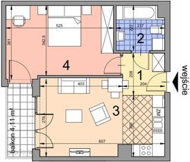 BA2.23 lokal mieszkalny, IIp, Kobierzyńska 164