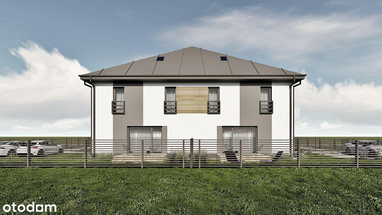 Ustawny dom w zabudowie bliźniaczej | Andrespol