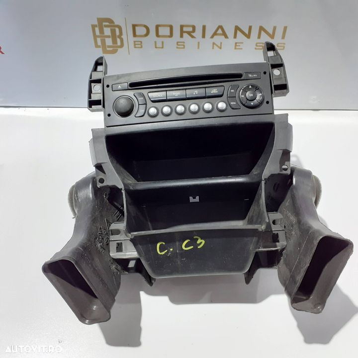 Radio CD+ suport Citroen C3 II 2010 | 96 750 215 XT 00 - 1