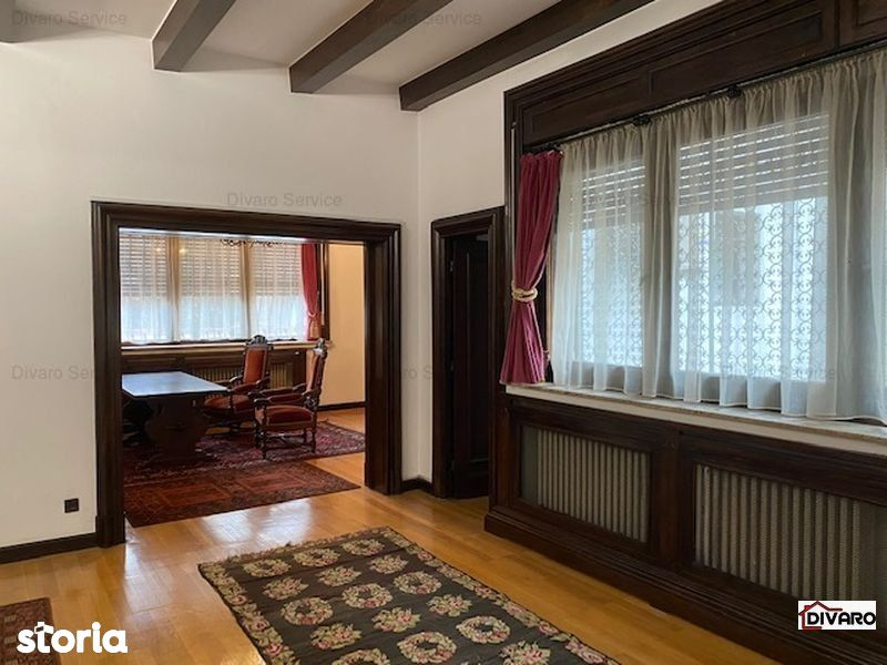 Inchiriere apartament 7 camere parter demisol garaj curte Cotroceni