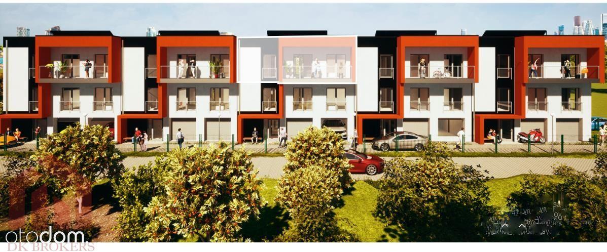 4 Pokoje  2 miejsca w garażu  Balkon os.Projektant