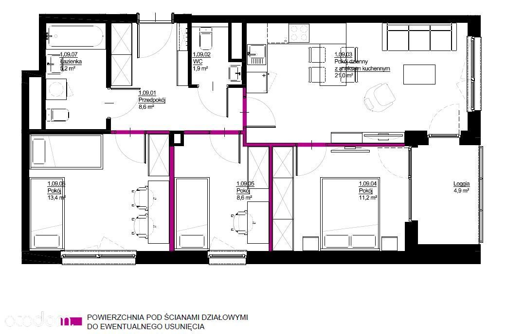 Nowoczesne mieszkanie activeCity II C2M15