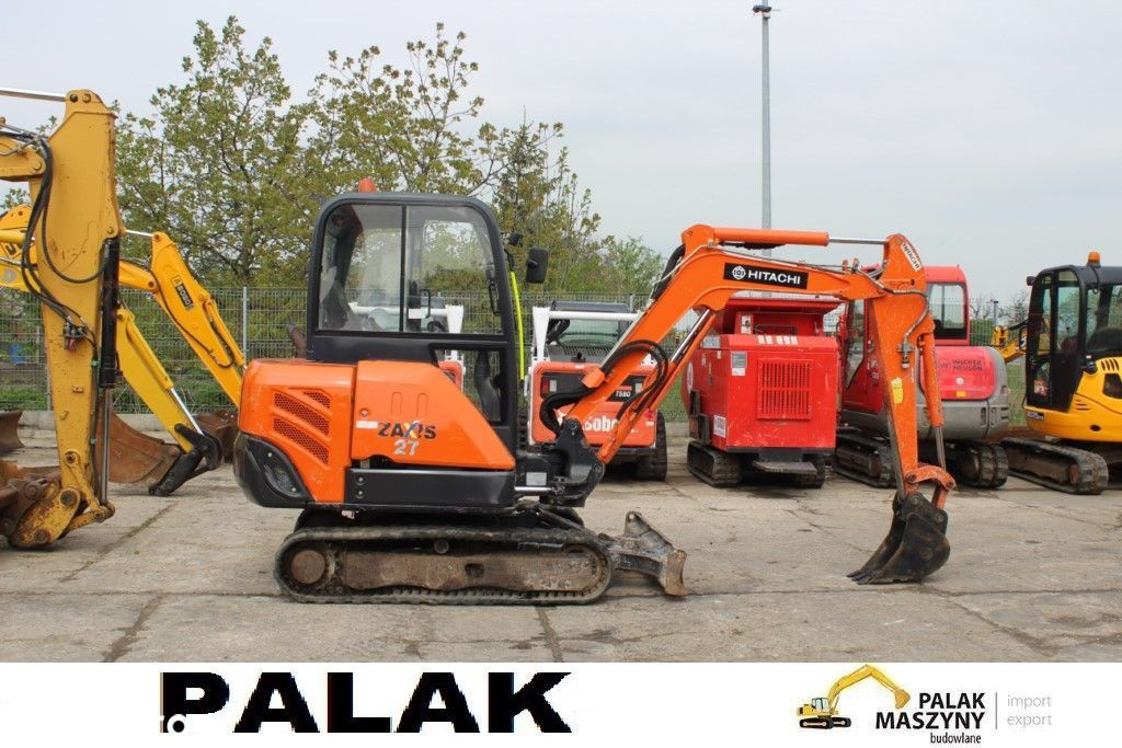 Hitachi Mini koparka HITACHI  ZX27-3 ,2014 rok  JCB ,CAT ,Takeuchi - 1