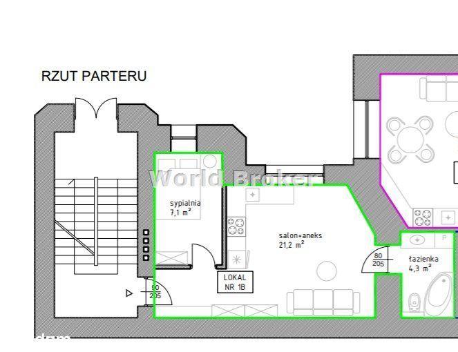 Nowa Oferta - Mieszkanie 2 pokoje 45,1m², Jasnogór