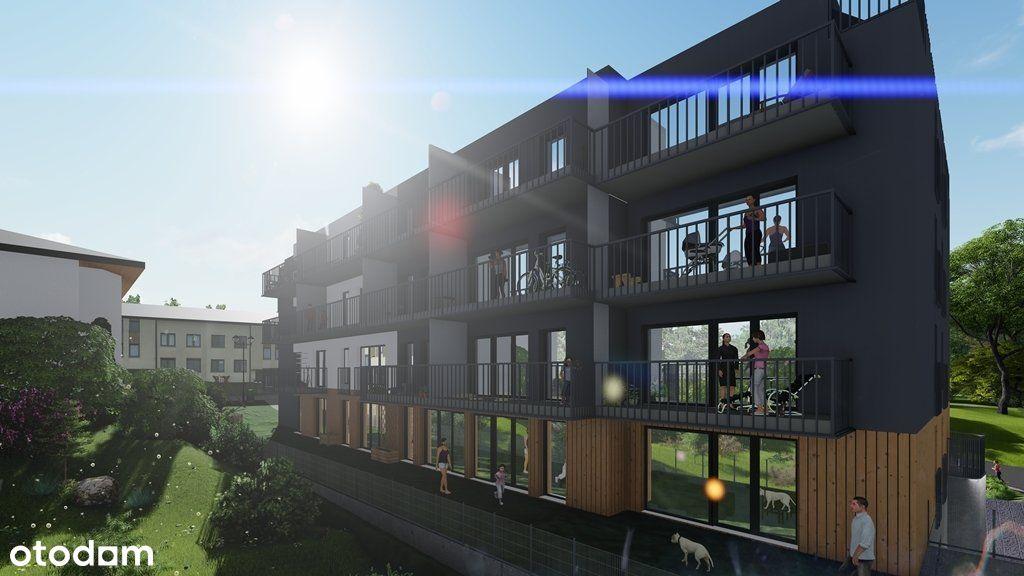 3 pokojowe, 17m2 balkon, Załęże