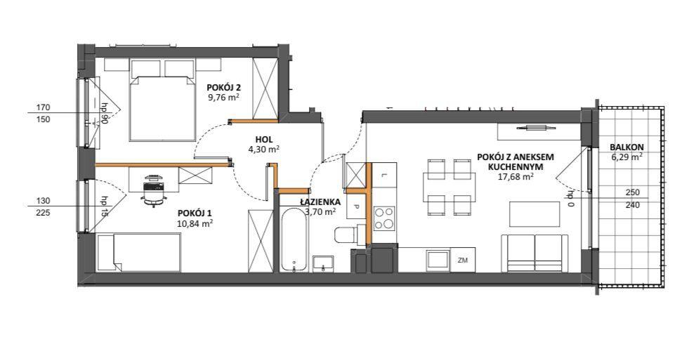 3 pokoje + komórka + garaż - GOTOWE DO ODBIORU!!!