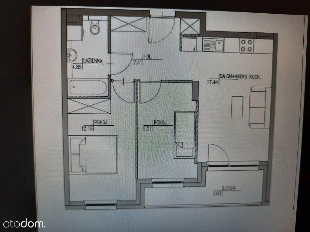 Funkcjonalne mieszkanie 3 pok plus projekt Gratis