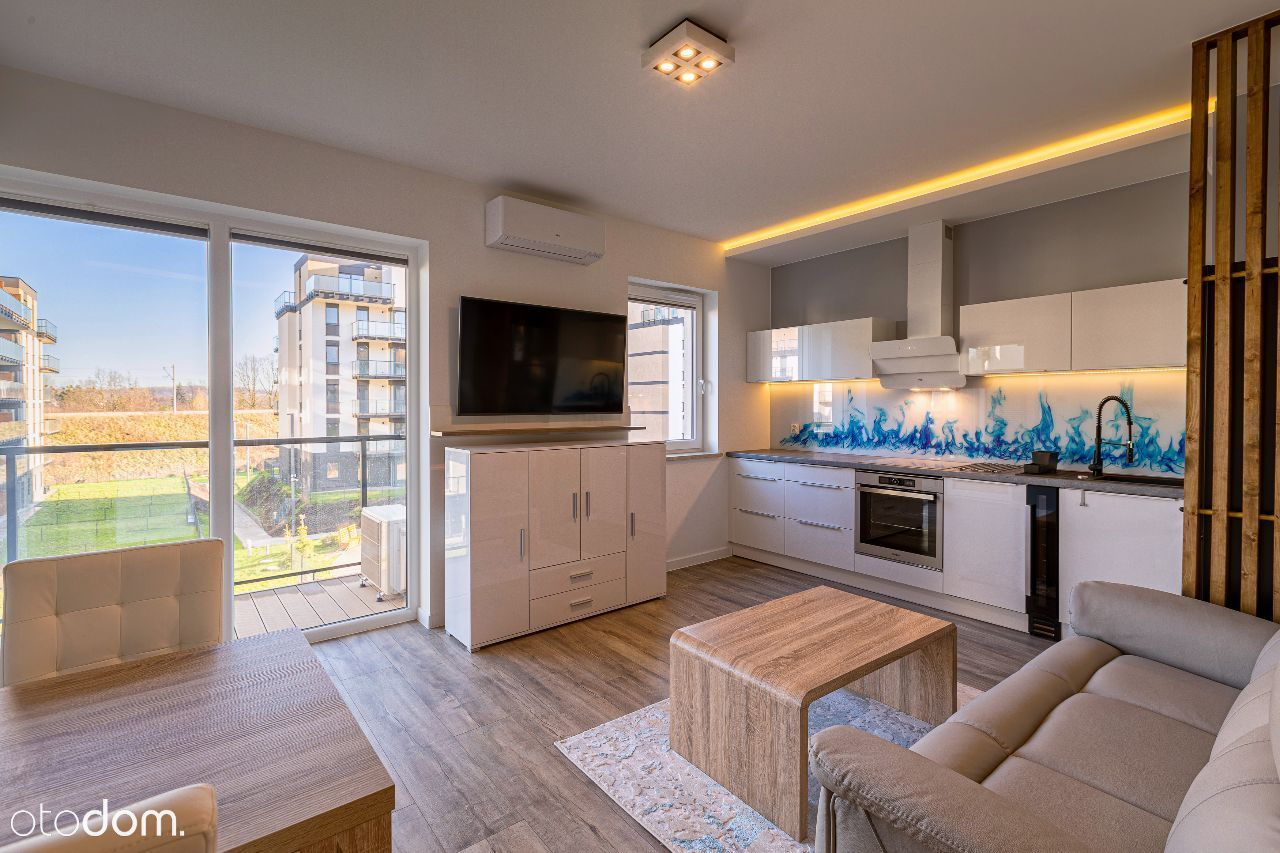 Apartament VIP – Sauna, Klimatyzacja, Garderoba