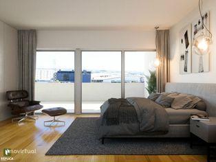 Apartamento T1, Alameda das Antas