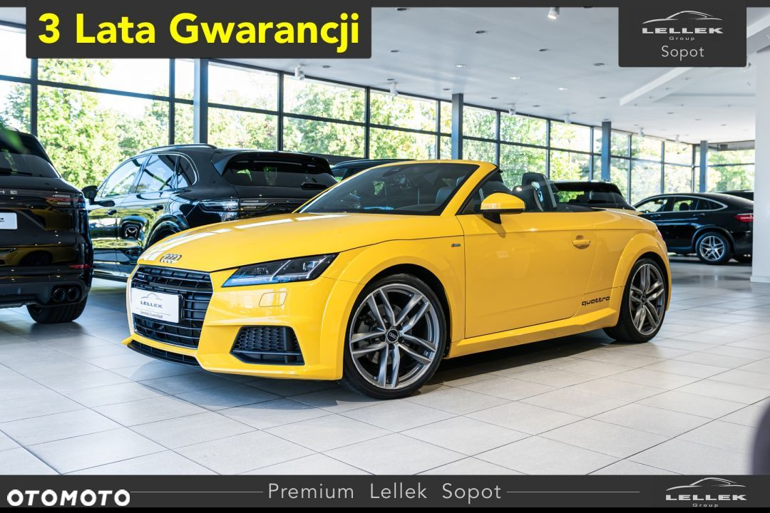 Audi TT Quattro, DSG, Bang and Olufsen, Vegas Yellow, Gwar - 1