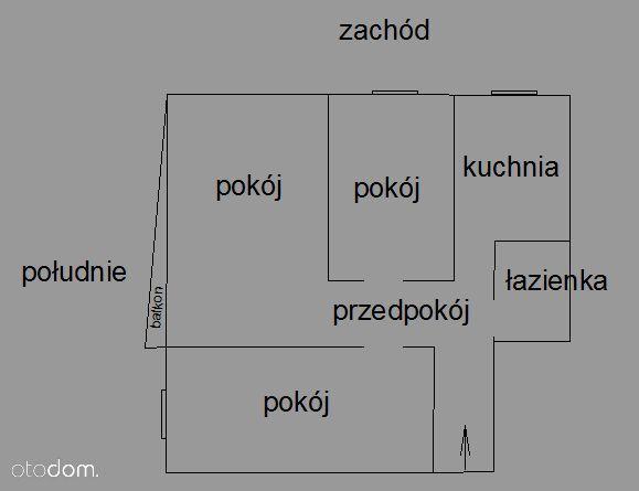 3 pokojowe mieszkanie Bielszowice ul.Ks.Niedzieli