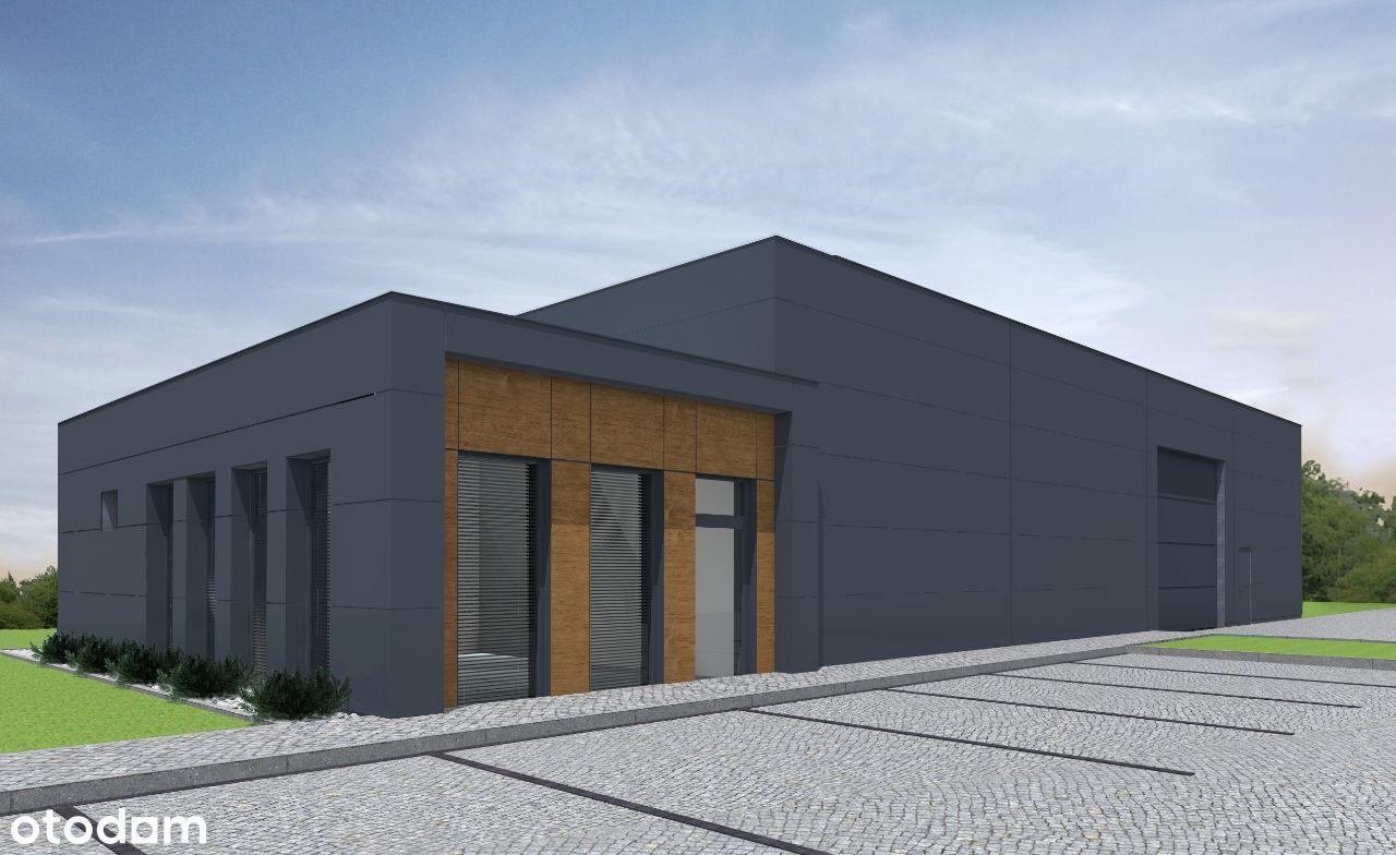 Nowy obiekt magazynowo-biurowy 350m kw. Komorniki
