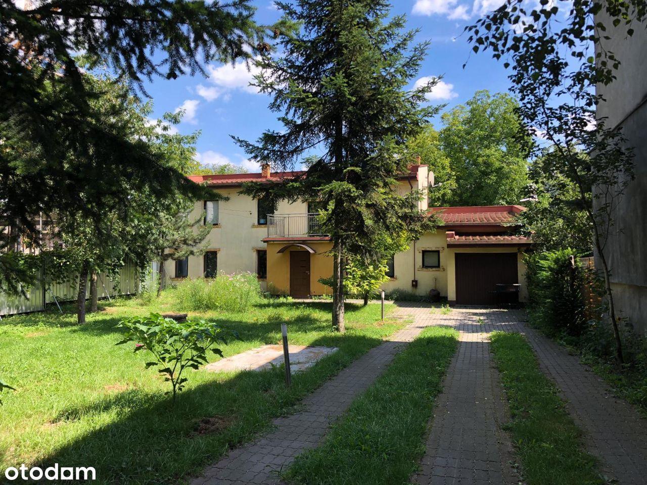 Dom z dużą działką w centrum Pruszkowa! Odświeżony