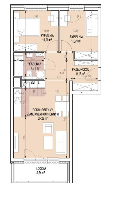 3 pokoje dla rodziny! BLISKO CENTRUM Bonarka