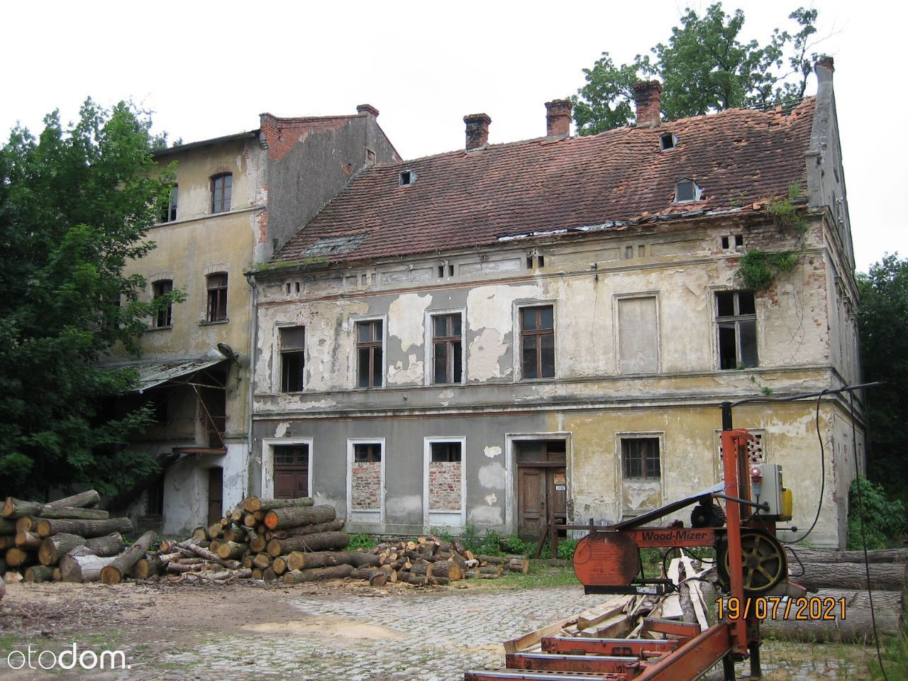 Dom z potencjałem do remontu