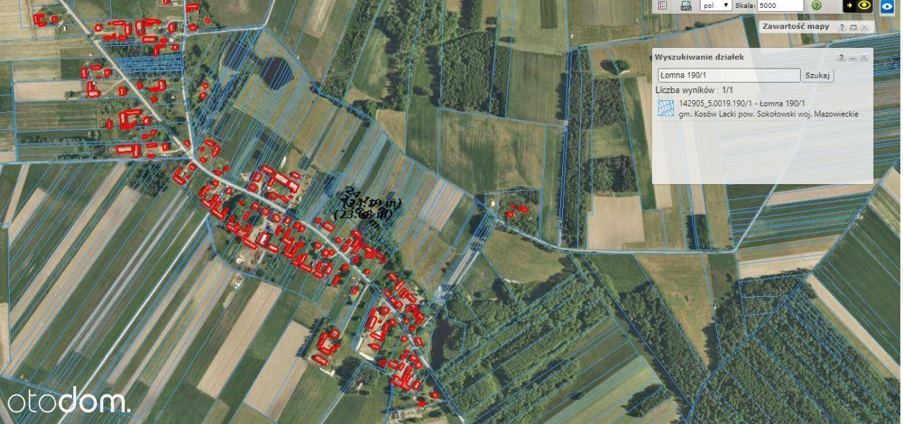 Łomna gmina Kosów Lacki 3600 metrów