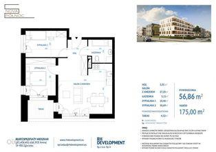 Mieszkanie 56,86 m2 - 3 pok. Zgorzelec