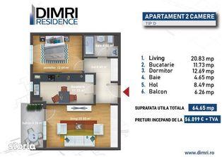 2 camere   Direct Dezvoltator   Piscina   Sector 6   Nou