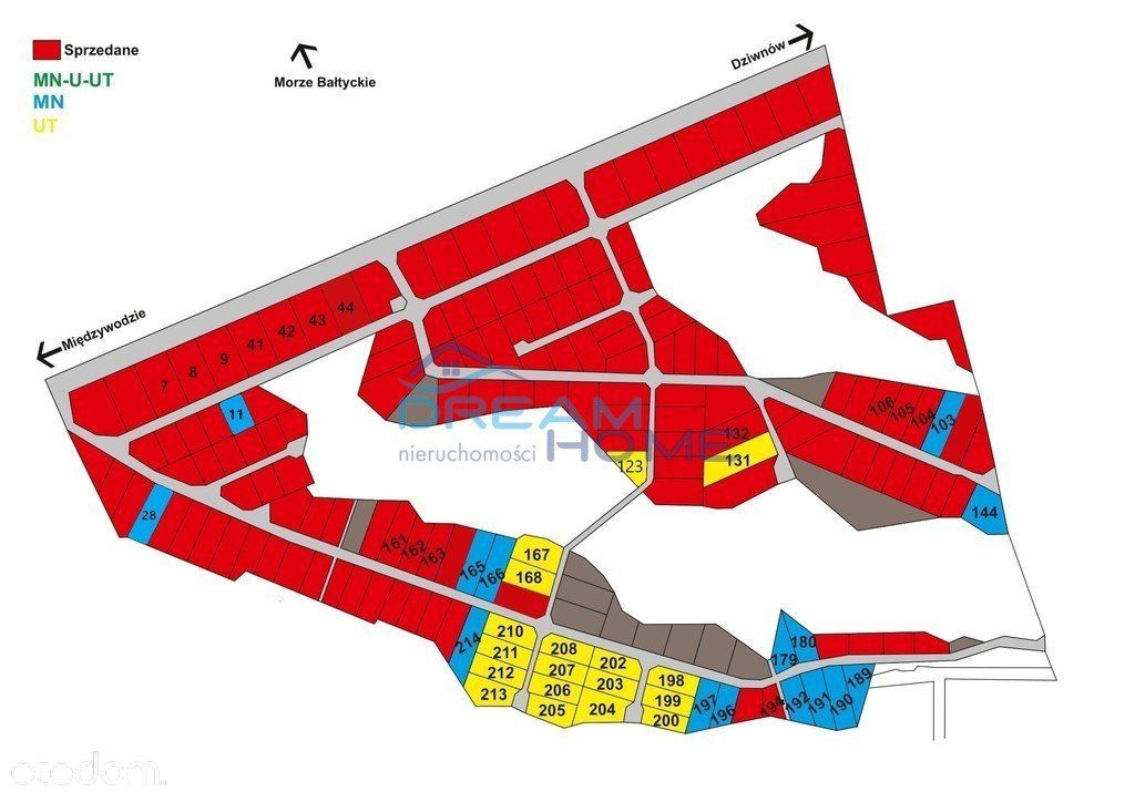 Działka, 2 004 m², Dziwnów
