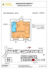 Mieszkanie nr 48 (Budynek A) SPRZEDANE