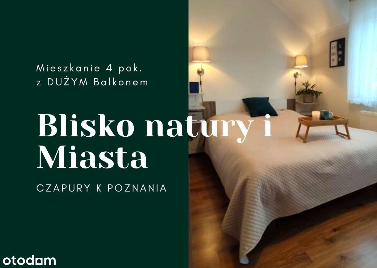 Nowe UMEBLOWANE Mieszkanie 4 pok. Balkon LAS