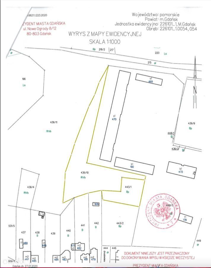 Gdańsk Wrzeszcz, ul. Wileńska/Sobieskiego, 3.745 m
