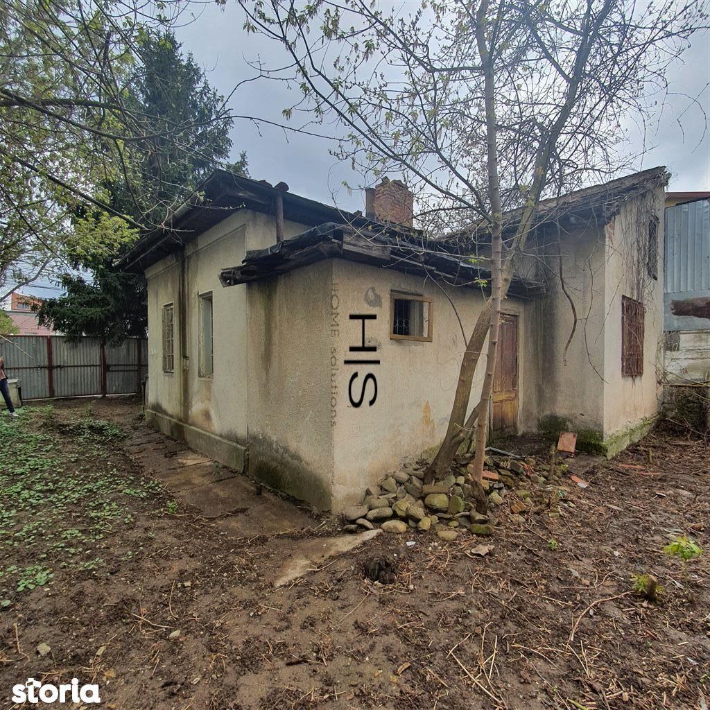 Vanzare teren 360mp cu casa veche pe el Bucurestii Noi