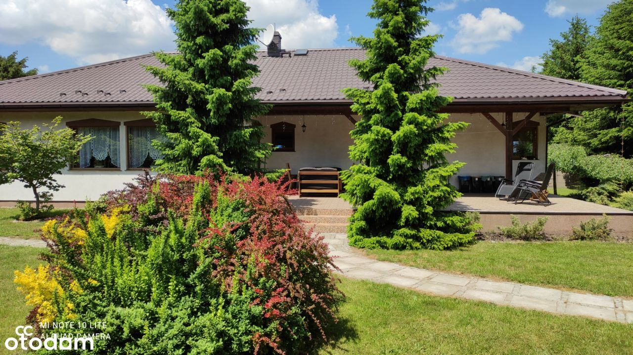 Dom w Andrzejowie z piękną działką