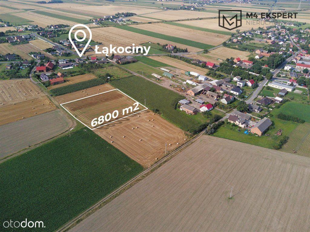 Działka 6800 m2 z Wz na budowę domów | Łąkociny
