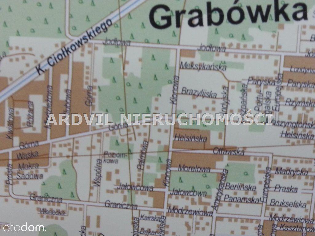 Działka, 1 527 m², Grabówka
