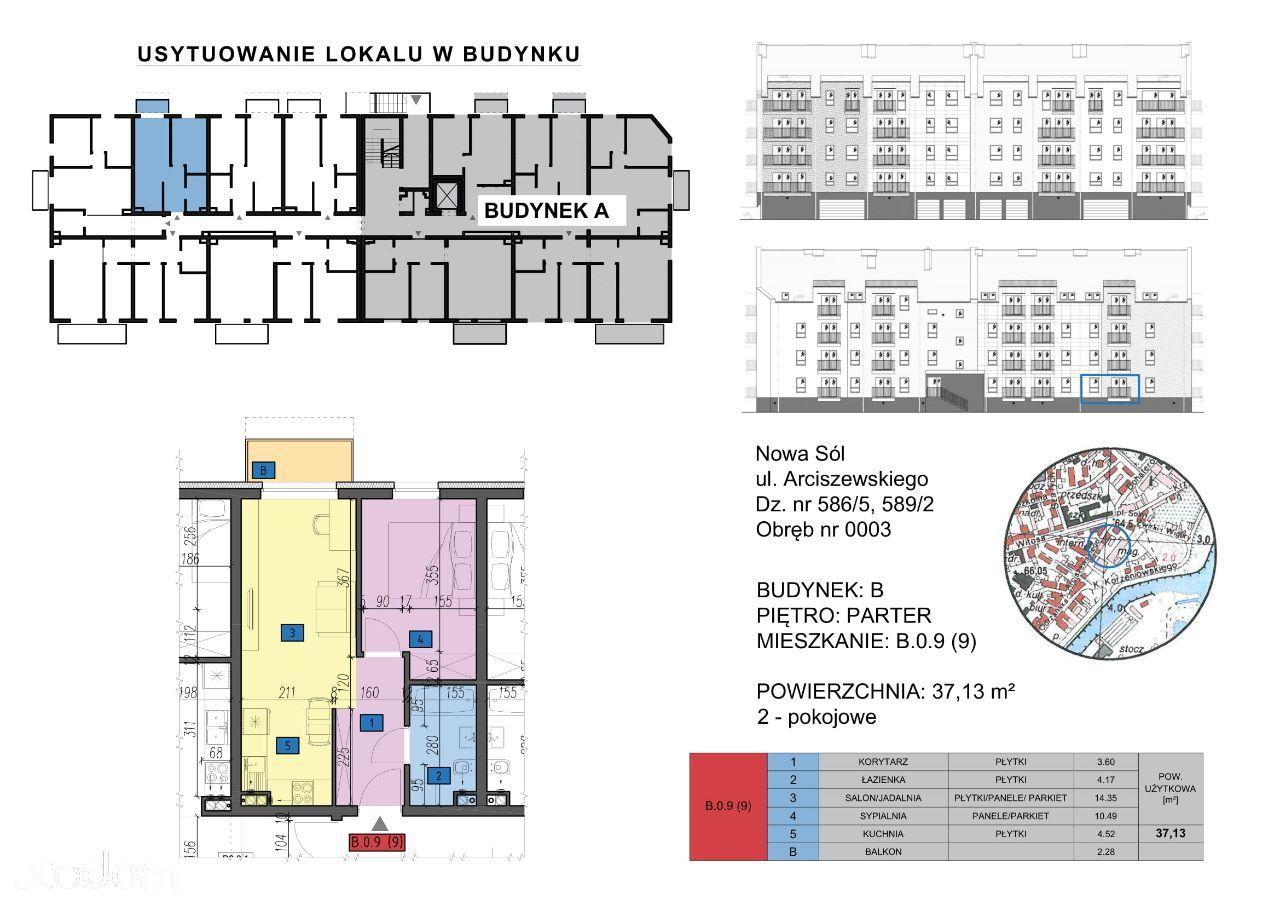 Mieszkanie: B.0.9 (9) - 2 pokoje