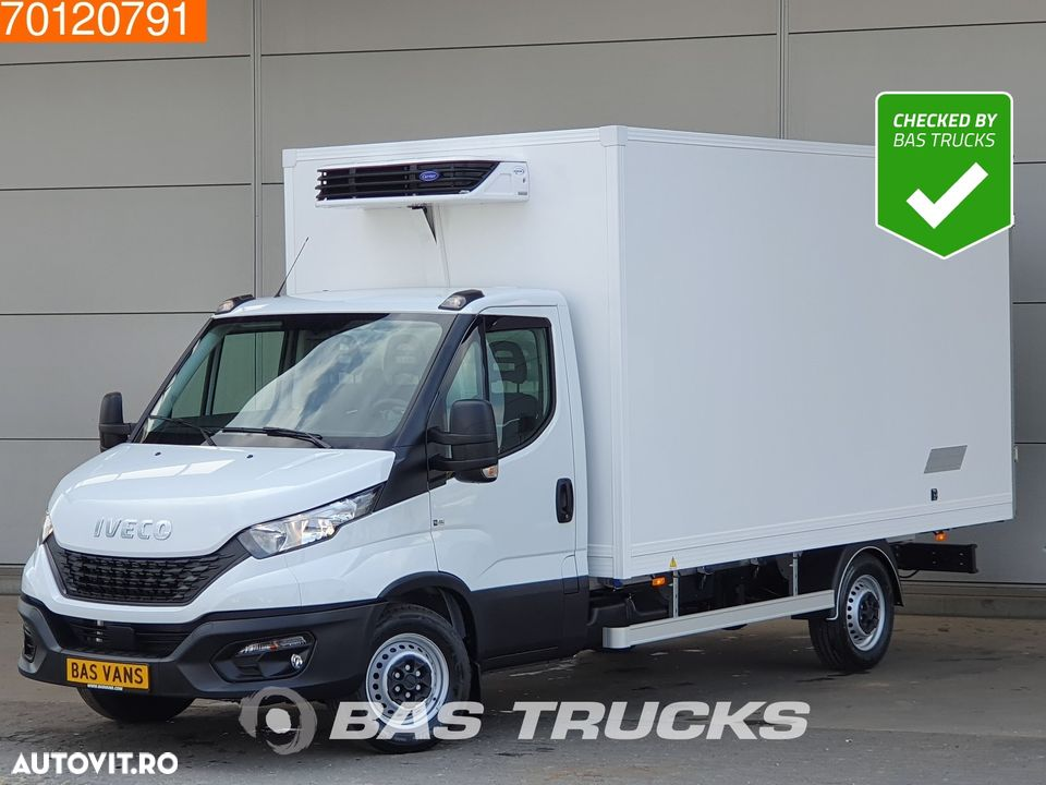 Iveco Daily 35S18 3.0 180PK Koelwagen -20 Vries Dag / Nacht 230V Carrier 17m3 A/C Cruise control - 1