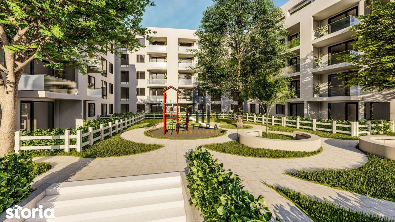 Arhitectura moderna, 3 camere, Pacurari - Proges, loc parcare inclus