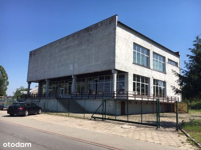 Hala na działalność produkcyjną handlową Łobżenica