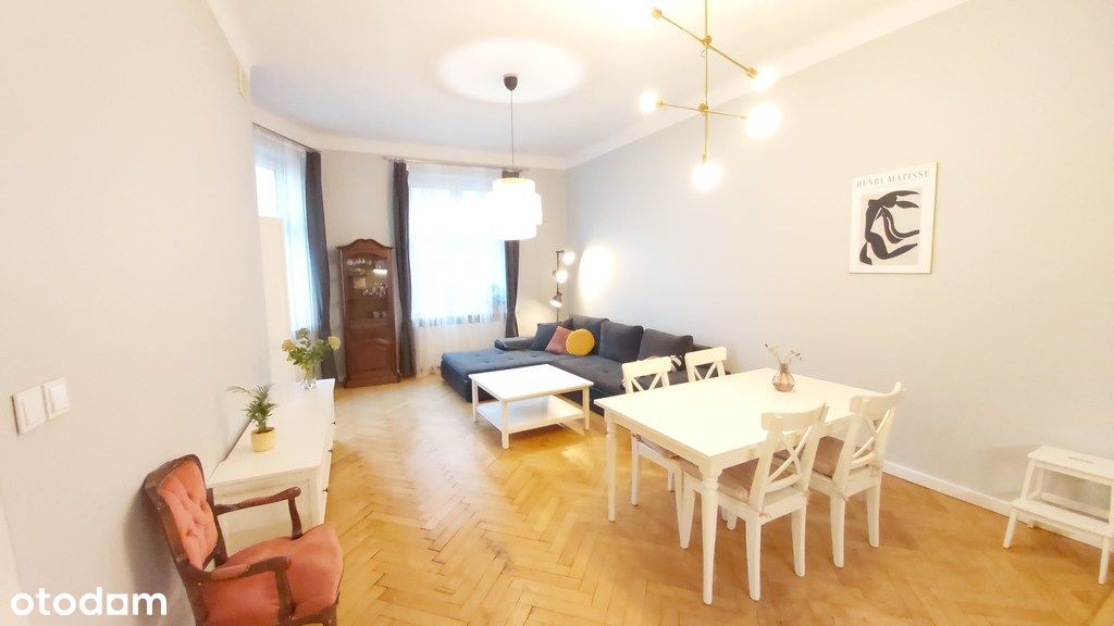 2 pokojowe, wyposażone mieszkanie w centrum