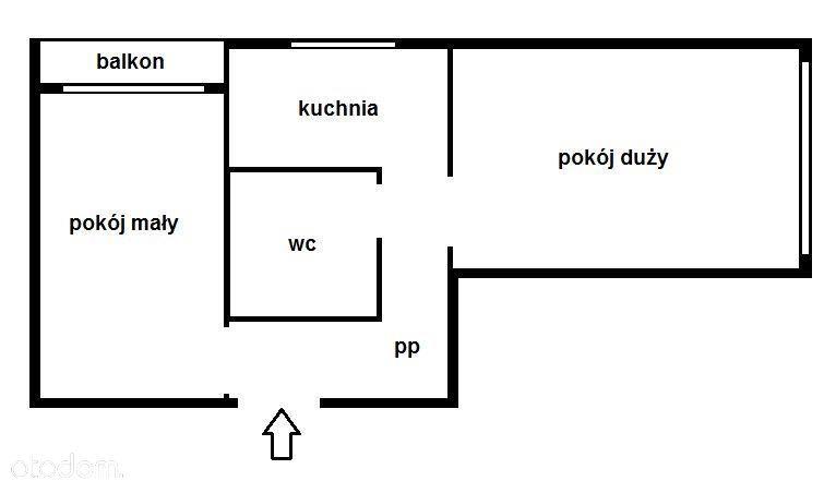 Sikornik, 41 m2, 2 pokoje