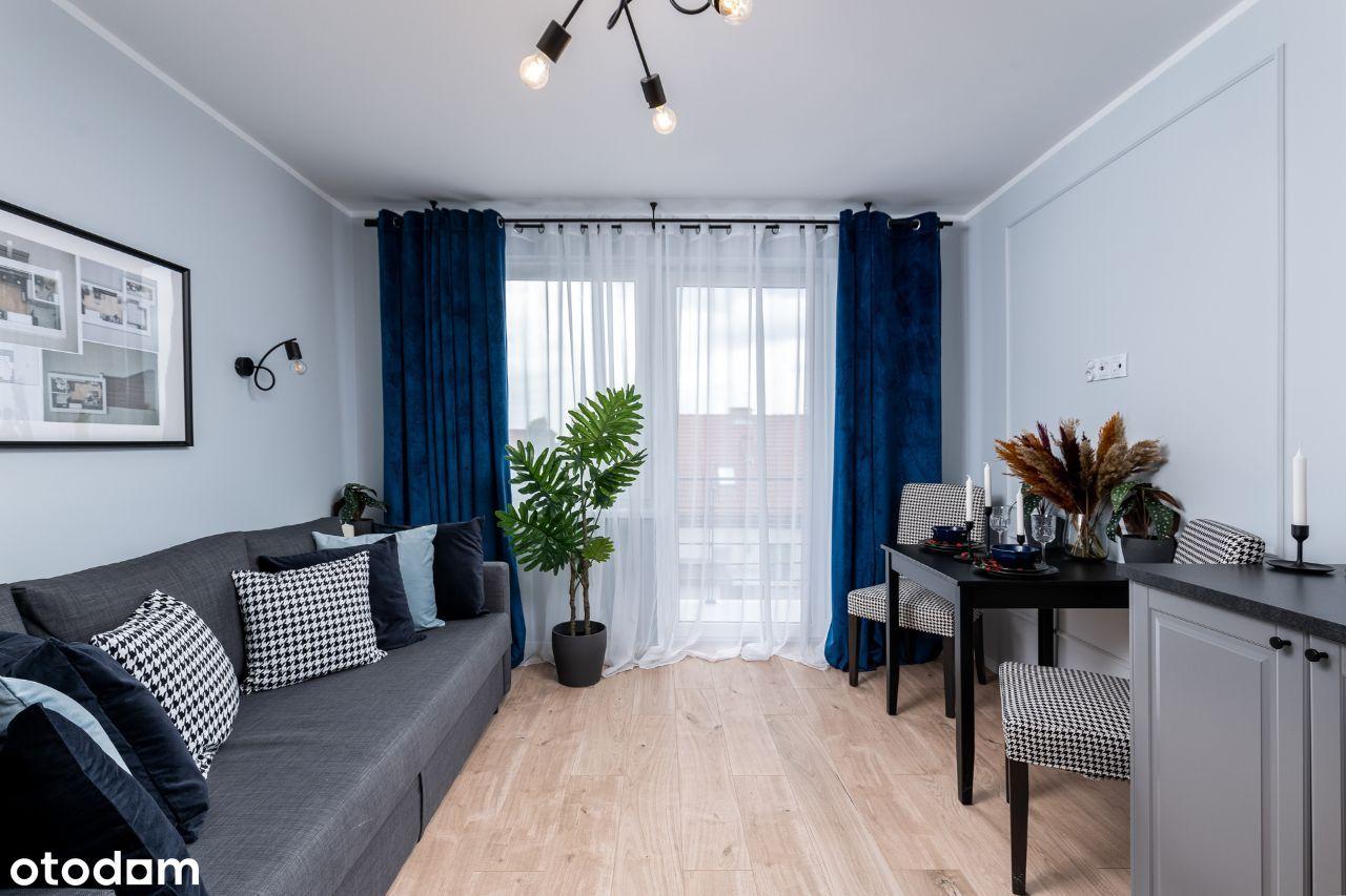 WYSOKI STANDARD Mieszkanie z 10m2 BALKONEM M12