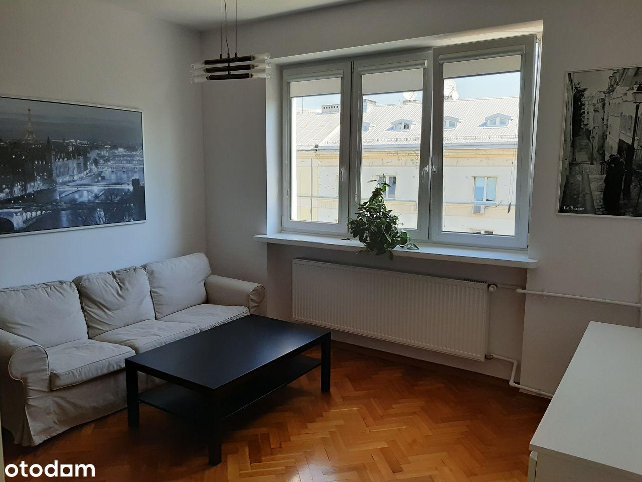 2 pokojowe 42m2, metro Pole Mokotowskie