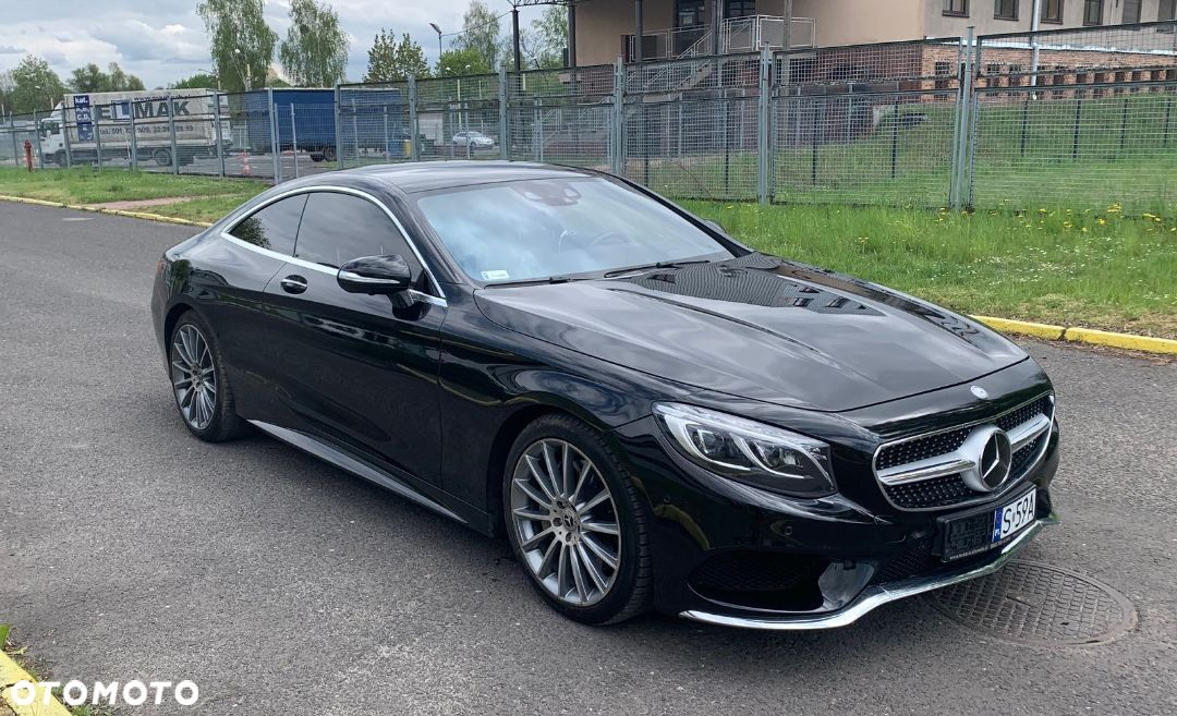 Mercedes-Benz Klasa S Coupe S550 4Matic IDEALNY STAN - 1